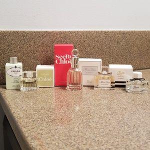 Mini Designer Bottle Travel Sample Set +SPRAY